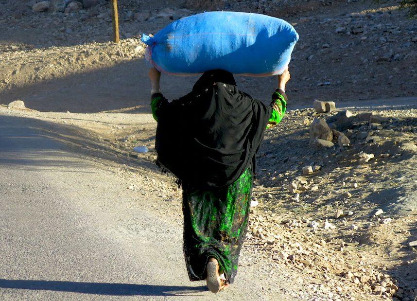 Marocco, donna.